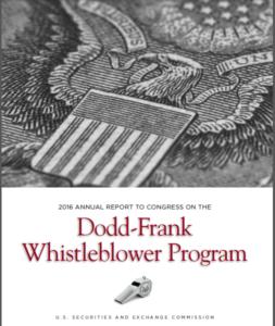 2016 SEC whistleblower report