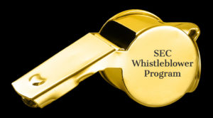 SEC whistleblower program statistics