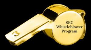 SEC whistleblower program statistics