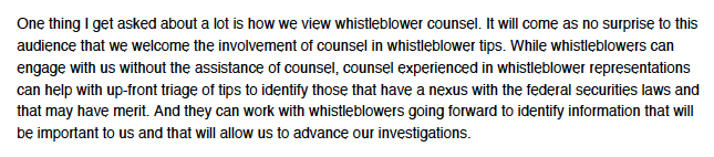 SEC whistleblower lawyers