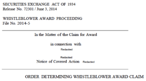maximum SEC whistleblower award