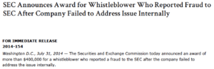 first SEC whistleblower award appeal