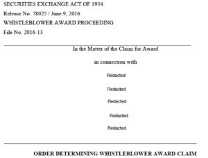 17 million SEC whistleblower award