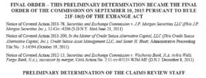SEC whistleblower award disqualification