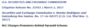 pyramid schemes