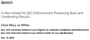 SEC whistleblower reward program