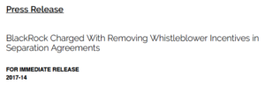 SEC whistleblower award waivers