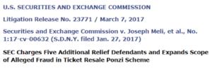 Ponzi scheme frauds