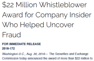 culpable SEC whistleblowers